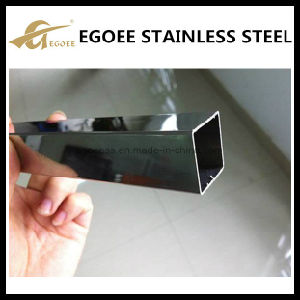 High Polish Stainless Steel 304 201 Square Tube pictures & photos