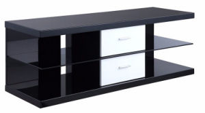High Gloss Stainless Steel Modern Design Stainless Steel Living Room TV Stand Table