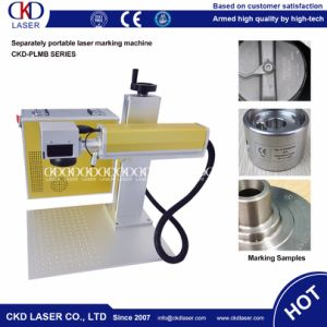 Fiber Color Laser Marking Machine for Metal pictures & photos
