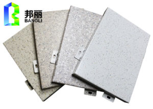 Stone Grain Coating Aluminum Panels Stone Decorative Wall Panel Manufacturer pictures & photos