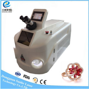 200W China Jewelry Processing Laser Spot Welding Machine pictures & photos