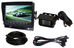 """7"""" Rearview System with Removable Sunshade and Waterproof Camera pictures & photos"""