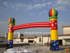 USA Style Nflatable Arch for Celebration and for Holiday pictures & photos