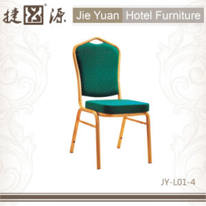 Hotel Furniture General Use Metal Frame Dining Chair (JY-L01-4) pictures & photos