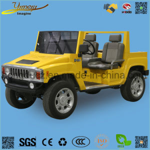 Electric 4WD Hummer Golf Car Independent Suspension Vehicle pictures & photos