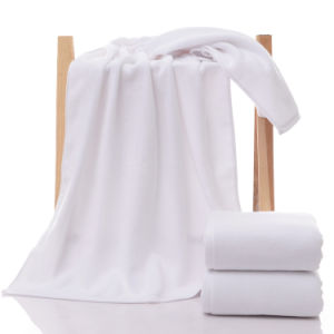 High Quality Luxury White Hotel Bath Towel Hand Towel pictures & photos