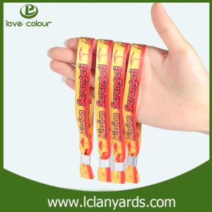 Festival Fashion Club Heat Transfer Polyester Wristbands Manufacturer pictures & photos