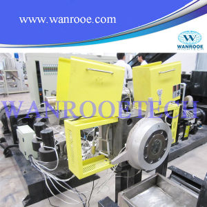 Double Stage PE Film Pelletizing Machine pictures & photos