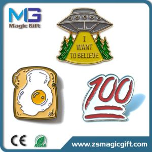 Hot Sales Promotional Enamel Filling Man Lapel Pin pictures & photos