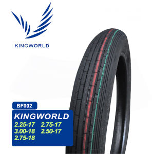 Tubeless Motorcycle Tire 2.25-17 2.50-17 80/100-17 110/90-17 120/80-17 pictures & photos