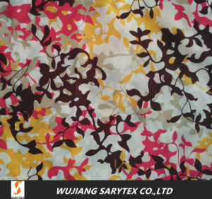 100% Polyester Microfiber Printed Fabric pictures & photos