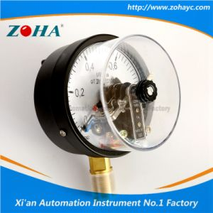 Commercial Electric Contact Manometer with Magnetic pictures & photos