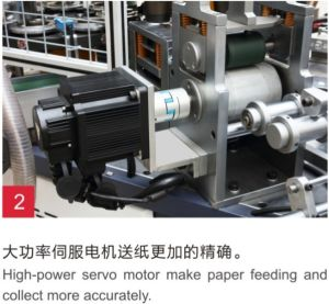 Second-Hand High Speed Paper Cup Machine Gzb-600 pictures & photos