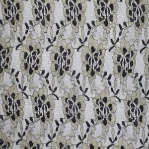 New Design Polyester Fancy Voile African Lace Fabric