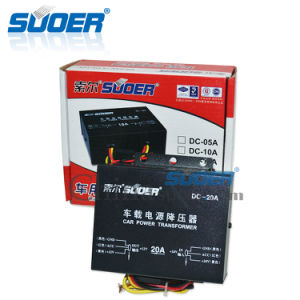 Suoer DC Buck Converter 20A Car Step Down Transformer (DC-20A) pictures & photos