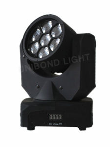 Mini Beeye Eye Light 7PCS 10W LED Bulb Moving Head Wash Stage Light pictures & photos