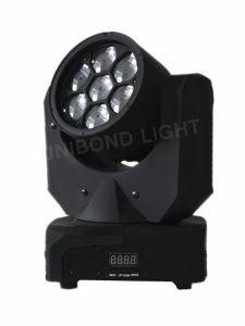 Mini Beeye Light 7PCS 10W LED Bulb Moving Head Wash Light pictures & photos
