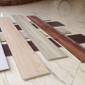 European Standard Soundproof WPC Vinyl Click Flooring pictures & photos