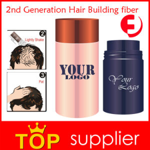 Factory High Quality Private Label Hair Building Fibers with Pump (S05)