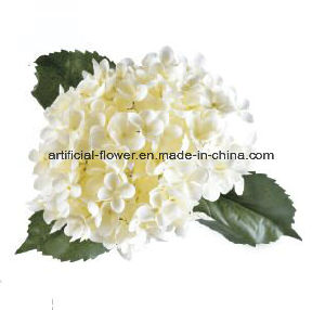 2017 Beautiful Artificial Flower Plastic Silk Fabric Handmade Flower for Decoration pictures & photos