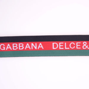 High Tenacity Red Polyester/Nylon/Cotton Strap Elastic with Buckle pictures & photos
