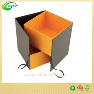 Square Cardboard Paper Box, Leather Watch Packaging Box (CKT-CB-761)