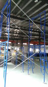 Blue Pipe Scaffold Frame pictures & photos