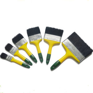 Professional Paint Brush with Color Plastic Handle (GMPB026) pictures & photos