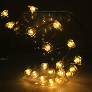 Lovely Cat LED Copper Fairy String Wire Battery Operated Tiny Warm White Twinkle Lights pictures & photos