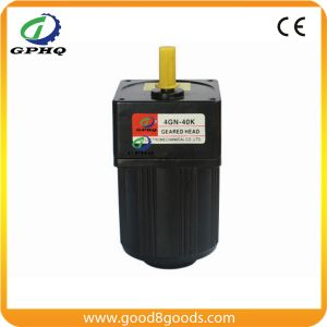 Gphq 60W 380V Three Phase Speed Reduction Gearbox Motor pictures & photos