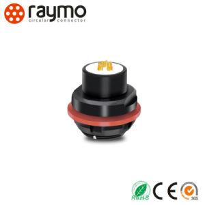 Raymo Connector Fischer 104 Series Waterproof IP68 Panel Mounted Receptacle pictures & photos