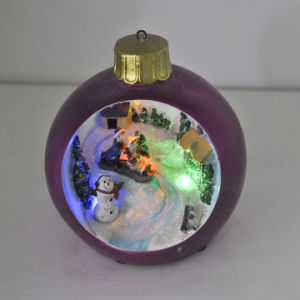 Creative Design Resin Christmas Decoration Apple pictures & photos