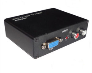 VGA to HDMI Converter Metal Shell pictures & photos
