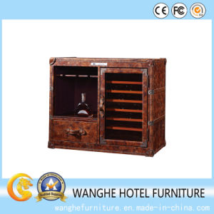 Hotel Furniture Living Room Side Table Wine Cabinet pictures & photos