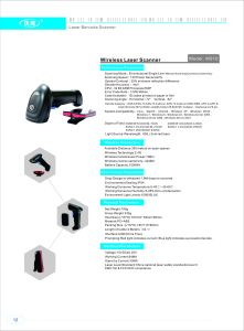 CCD Wireless 1d Laser Barcode Scanner with Memory pictures & photos