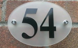 Transparent Acrylic Table Number, Magnet Acrylic Number Plates pictures & photos