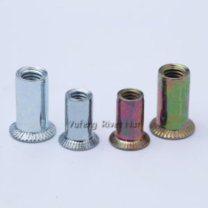 Countersunk Head Round/Knurled Body Rivet Nut pictures & photos