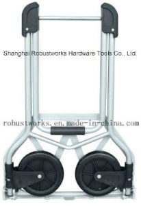 Foldable Steel Hand Truck (HT021-1) pictures & photos