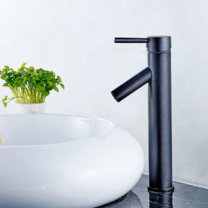 FLG Basin Faucet Oil Rubbed Bronze Waterfall Bath Tap pictures & photos