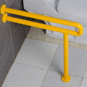 Wall-Floor Mounted Anti-Bacterial U-Shaped Nylon Decorative Grab Bars for Bathroom pictures & photos
