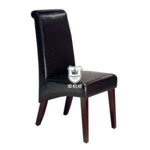 Modren Hotel Resterant Chair with Leather Upholstered pictures & photos