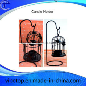 Factory Price Wholesale Newest Creative Iron Bird Cage Candle Holder pictures & photos