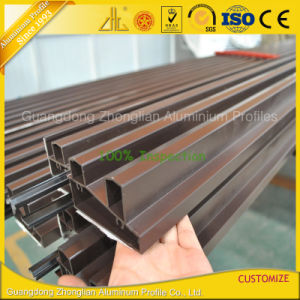 Powder Coating Anodized Extruded Aluminum Aluminium for Construction / Decoration pictures & photos