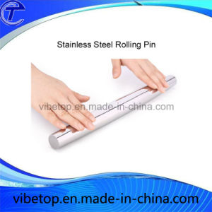 China Manufacturers Export Stainless Steel Rolling Pin Factory Price pictures & photos