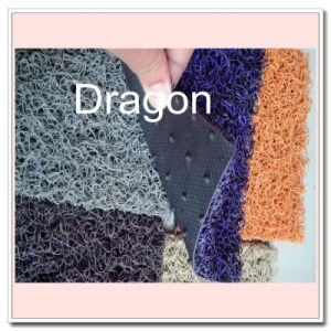 PVC Calandering Back Mat Double Color Spike Backing Loop Mat pictures & photos