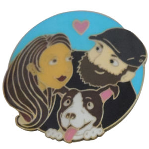 Custom Metal Lapel Pin Badges with Hard Enamel for Promotion pictures & photos