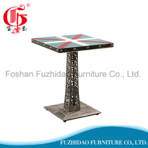 Leisure Discounted Square Restaurant Table for Sale pictures & photos