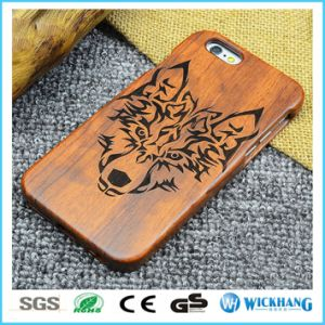 Natural Wood Carved Mobile Phone Case pictures & photos