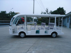 72V 5kw Electric Tourism Car with 14 Seaters in Changzhou pictures & photos