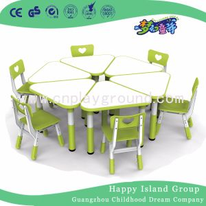 Quality Classroom Furniture Kids Furniture Kids Plastic Table Chair Set (HF-2003) pictures & photos
